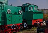 Locomotive OKi1-28 and Pt47-104