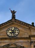 Clock Under The Saint
