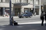 A lone musician @f5.6 5D
