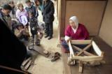Spinning silk thread Reala