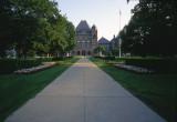 Ontario parliament building in Toronto Reala