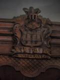 Boven Leeuwen, NH kerk top preekstoel, 2007