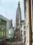 Breda, prot gem toren Grote Kerk, circa 1970