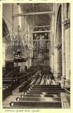 Gouda, prot gem Grote Kerk interieur, circa 1935