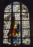 Gouda, prot gem Sint Janskerk Jona raam