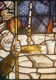 Gouda, prot gem Sint Janskerk fragment raam