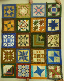 Blocks of the Month Birthday Quilt 2010