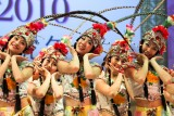 dancers from chengdu, 2010