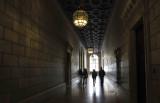 new york public library corridor