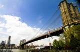 across east river, Brooklyn Bridge