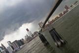 Storm over Brooklyn Bridge