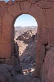 Mt Sinai ascent, the short route