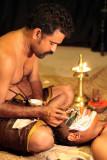 Make up time, Kathakali Centre