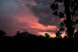 Sunset, Hornbill Camp