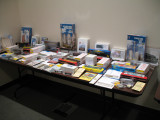 View of the Door Prize Table