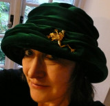 I know I've got a frog on my head......