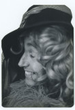 1973 - Opal in hat and wig - Oakland
