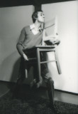 1978  -Reading with chair #4 - Toronto