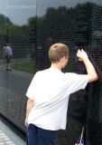 Jacob, Vietnam Memorial.