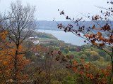 Clifty Falls Park Over-looking the Ohio River.