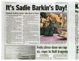New York Daily News Sadie story