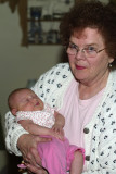 Mom with Evelyn