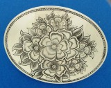 Oval Flowerbuckle No. 21