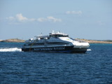 A New CityCat 40, built in Italy for Formentera-based Mediterranea Pitiusa. She entered service early in 2007