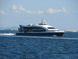 Started working between Ibiza-Formentera in early 2007.  Previously named 'Draupner', she worked between Bergen and Stavanger since 1999.