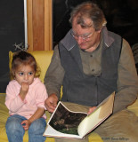Reading Jessica and the Moose to Florita