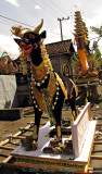 Balinese Funeral Bull