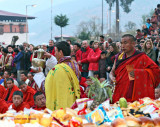 Pre-dawn Buddhist Ritual