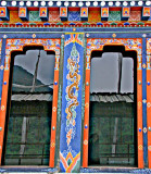 Bhutanese Window Designs