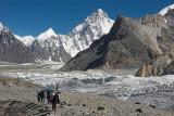 On Upper Baltoro glacier