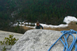 Climbing Stone Mtn. 1/12/10 [gallery]