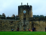 Looking back in time at Alnwick Castle
