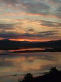 Sunrise  over  Afon  Glaslyn.