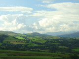 Looking south to Trawsfynydd,from Tomen-y-mur.