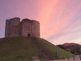 Morning glory over Clifford's Tower,York