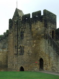 Alnwick Castle,a tower