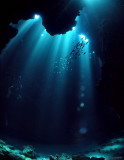 Sunlit caves