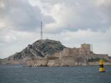 the Chateau d'If off the coast