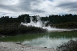 Lake and steam