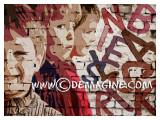 The graffiti boys (print on plexiglas 90x65cm))