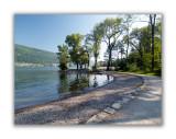 Nidau, les rives du lac de Bienne