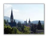 Les clochers de la ville