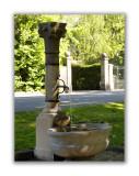 Faubourg du Lac. Petite fontaine