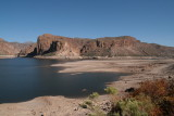 Canyon Lake Drawdown October 2007