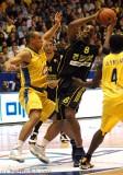Maccabi vs ARIS THESSALONIKI, 06-December-2007