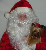 Zoe & Santa 2007